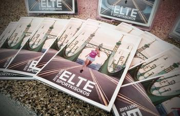 Megjelent a 2019-es ELTE Sportkisokos