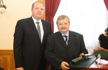 Litván állami kitüntetésben részesült Zoltán András