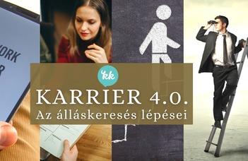 Karrier 4.0.: az álláskeresés lépései