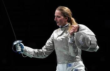 Kardvívásban olimpiai negyedik Márton Anna