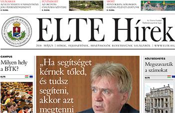 ELTE Hírek – 2018. május