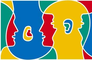 Nyelvészeti konferencia.