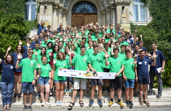 Nyári tábor 9–10–11. évfolyamos diákoknak.