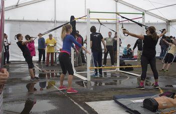 Több száz résztvevő az ELTE Egészség- és Sportnapján