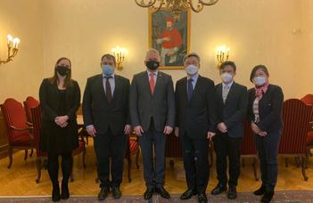 Az ELTE-re látogatott a koreai nagykövet
