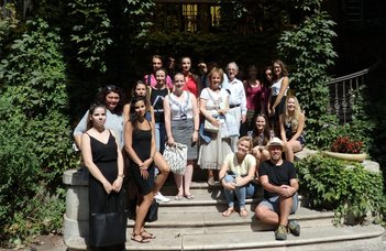 Nemzetközi nyár az ELTE-n