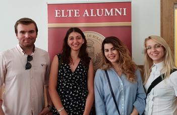 More than a farewell - nemzetközi Alumni találkozó