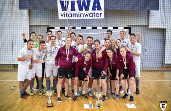 Egyetemi bajnok az ELTE futsalcsapata