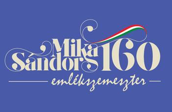 Mika Sándor emlékszemeszter