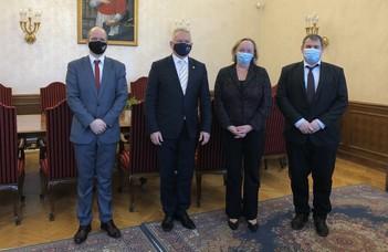 Az ELTE-re látogatott a norvég nagykövet