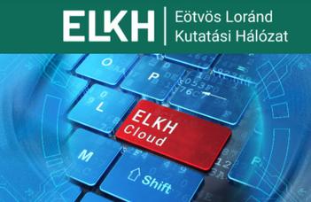 Az ELKH Továbbképző Központ és az ELKH Cloud projekt tájékoztató rendezvénye.