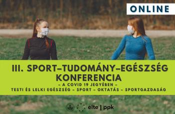 III. Sport – Tudomány – Egészség konferencia