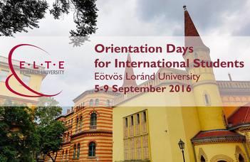 Ismét megrendezik a nemzetközi hallgatóknak szóló tájékoztató rendezvényt.