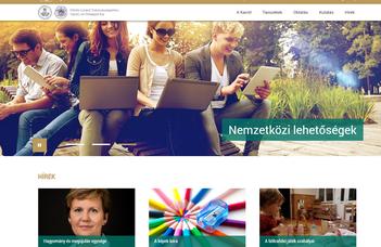 Megújult a Tanító- és Óvóképző Kar honlapja