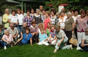 Beszámoló a Szenior Tánccsoport ausztriai útjáról