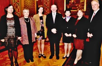 Ausztrál küldöttség Budapesten