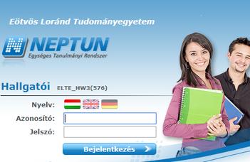 Neptun – Elektronikus Tanulmányi Rendszer
