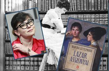 Marina Sztyepnova regénye az ELTE Ruszisztikai Központ könyvklubjában.