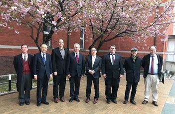 Az ELTE delegációja Japánban