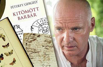 A Könyvklub programján Péterfy Gergely: Kitömött barbár c. regényéről beszélgetnek az íróval.