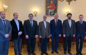 Irán újonnan kinevezett nagykövete az ELTE-n