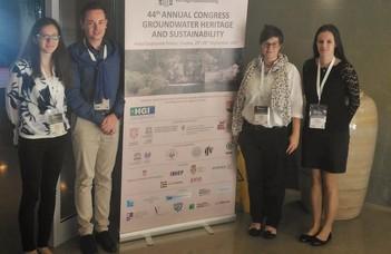 Az ELTE hidrogeológusai az IAH konferenciáján