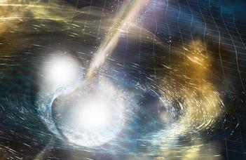 Gravitációs hullám és gammakitörés egyszerre