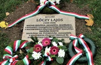 Lóczy Lajosra emlékeztek Balatonfüreden