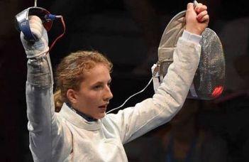 Márton Anna nyerte a női kardozók athéni világkupa-versenyét