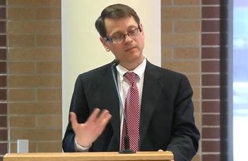 Marc Potenza professzor díszdoktori előadása.
