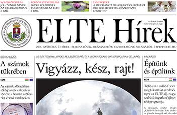 ELTE Hírek – 2016. március
