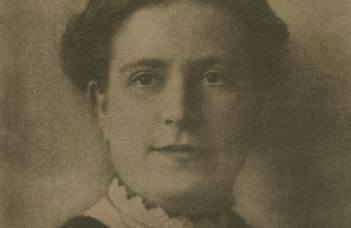 Glücklich Vilma, az első női hallgatónk és pár korai követője
