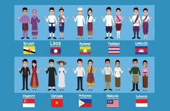 A PPK nemzetközi hallgatói bemutatják a Délkelet-ázsiaiNemzetek Szövetségét.