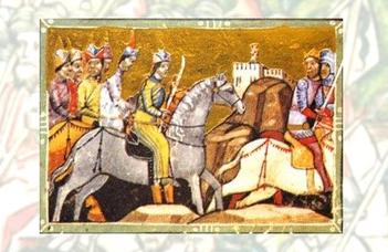 Ferences szerzetesek a mongolok között
