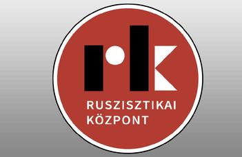Nemzetközi ruszisztikai konferencia.