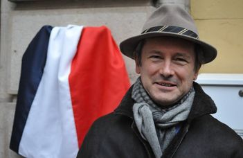 Éric Fournier francia nagykövet előadása.