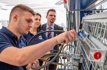 Ipar 4.0 laboratórium készül Szombathelyen
