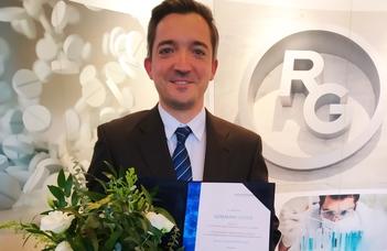 A Trefort kémiatanárát kitüntette a Richter