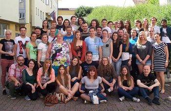 A Bécsi Egyetem és az ELTE SEK nyelvkurzusa osztrák és magyar diákok számára.