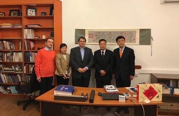 Kémikusaink együttműködése Kínával