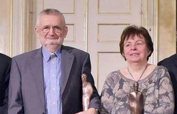Hazám-díjas Csányi Vilmos és Rakovszky Zsuzsa