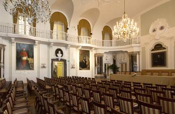 Az ELTE Szenátusának az Egyetem 385. tanévét megnyitó ünnepi közgyűlése.