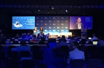 Hallgatóink az Internet Generation Forumon