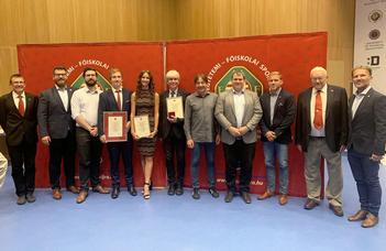 ELTE-s kitüntettek a MEFS tisztújító közgyűlésén