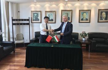 Az ELTE delegációja Kínában