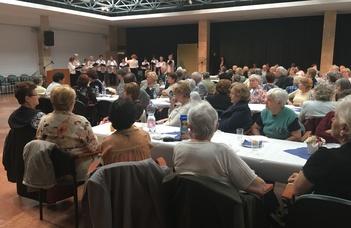 Hetedszerre találkoztak a ELTE nyugdíjasai