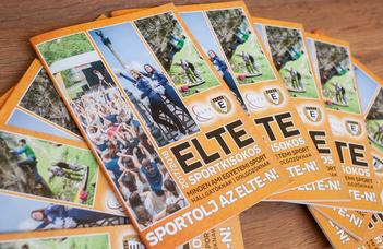 Megjelent a 2017-es ELTE Sportkisokos