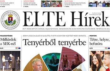 ELTE Hírek – 2017. augusztus