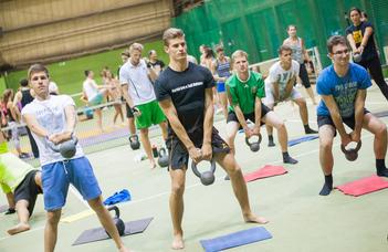 Az ELTE és a BEAC ingyenes sportágválasztó rendezvénye.